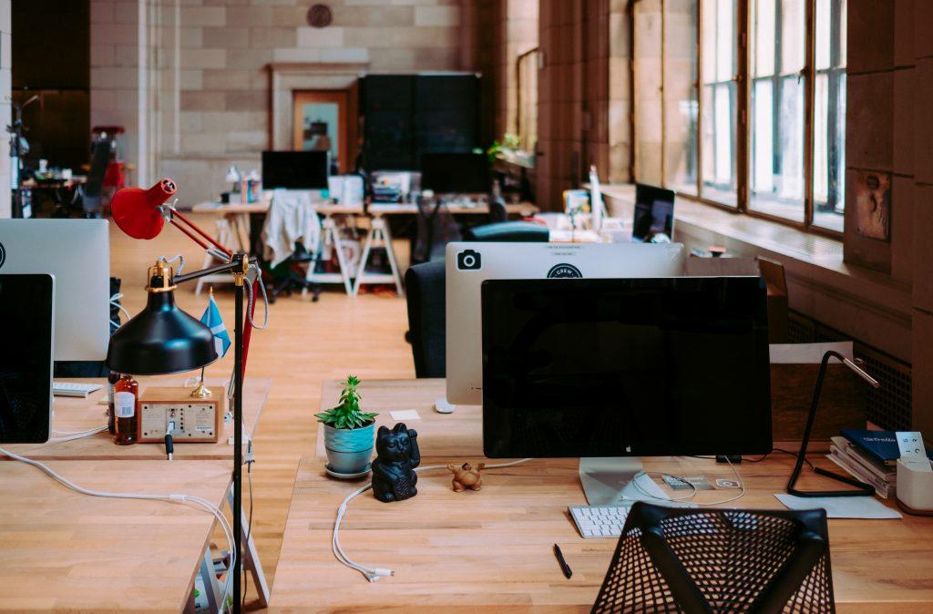 Bureaux en open-space